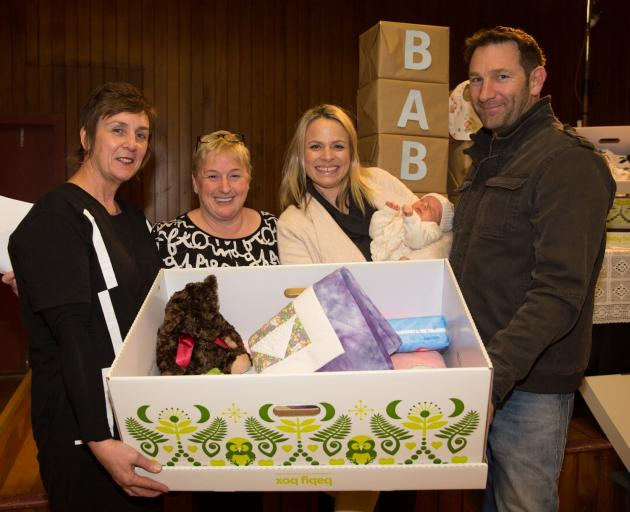 Baby Box Queenstown Lakes Charitable Trust founding trustees Jan Maxwell (left) and Vanessa van...