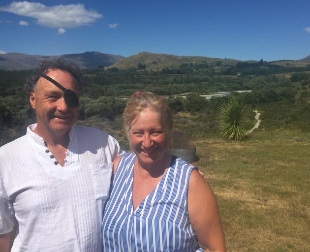 Queenstown couple Mark Hillary and Julie Carlaw-Hillary have built a new school in an...