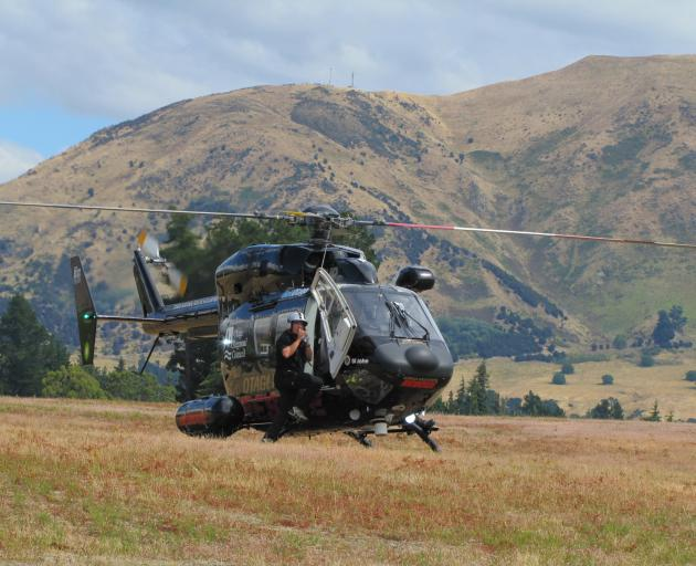 A rescue helicopter has been called to help locate a man on the Timaru River Track, near Lake...