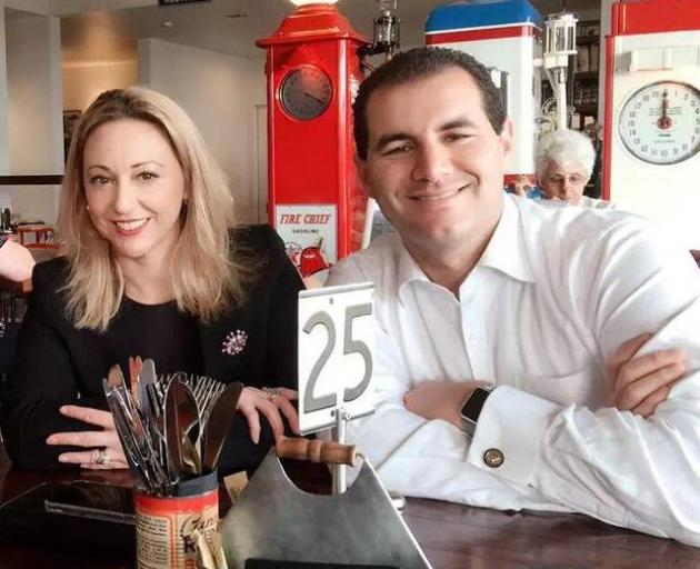 Sarah Dowie and Jami-Lee Ross, pictured in Invercargill. Photo: Supplied via NZ Herald