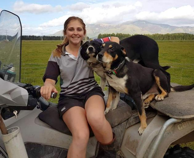 TeenAg member Sarah Humphriesis heading to Montana later this year. Photos: Supplied