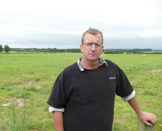 DairyNZ climate change ambassador Dean Alexander, of Lochiel says farmers can undertake some straightforward things to begin reducing on-farm emissions. Photo: Ken Muir