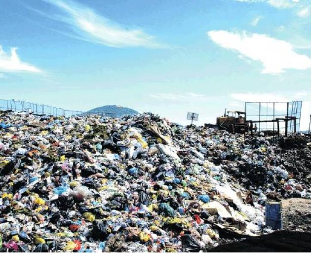 The cost of taking rubbish to the landfill is set to rise by 25%. Photo: ODT files