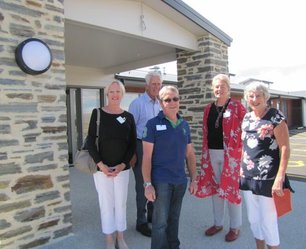 Maniototo Hospital reunion attendees (from left) Carolyn Tallentine, of Christchurch, John...
