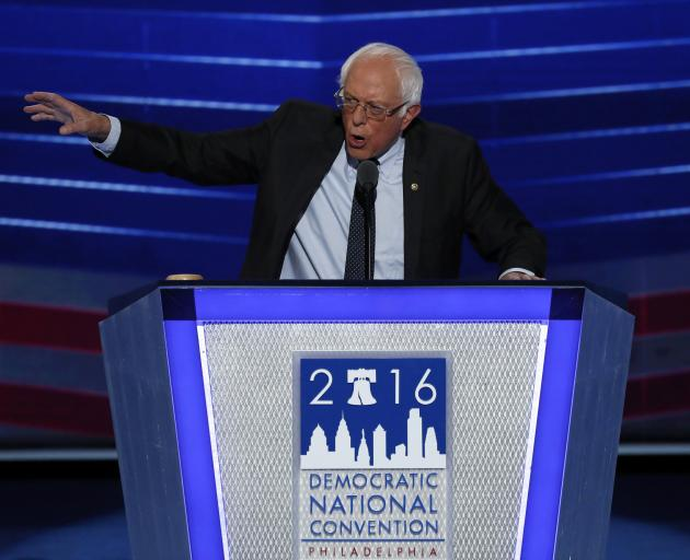 Bernie Sanders enters the race with clear strengths, including broad name recognition, a proven ability to raise money from small-dollar donors and a committed set of passionate supporters. Photo: Reuters