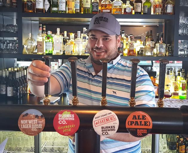 Burkes Brewing Co founder Sebastian Burke is focused on building his craft brewery business in...
