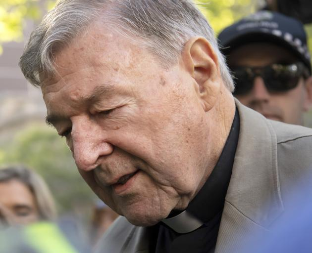 Cardinal George Pell is the highest Catholic cleric convicted of sex abuse. Photo: AP