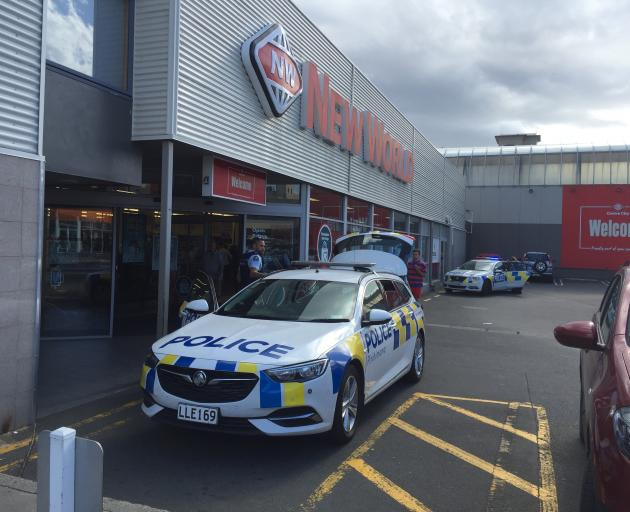 Police were called to Centre City New World after someone allegedly pulled a knife on a staff...