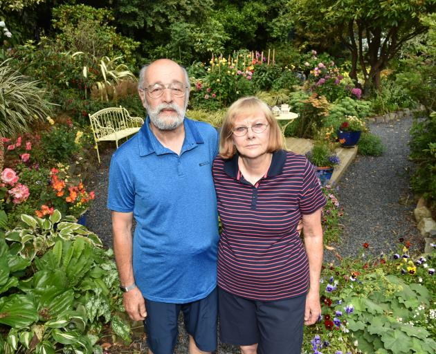 Cathy and Alex Shemansky, who own the Castlewood Cottage bed and breakfast in Company Bay, on Otago Peninsula, have been repeatedly flooded by stormwater problems not of their making. Photo: Gregor Richardson