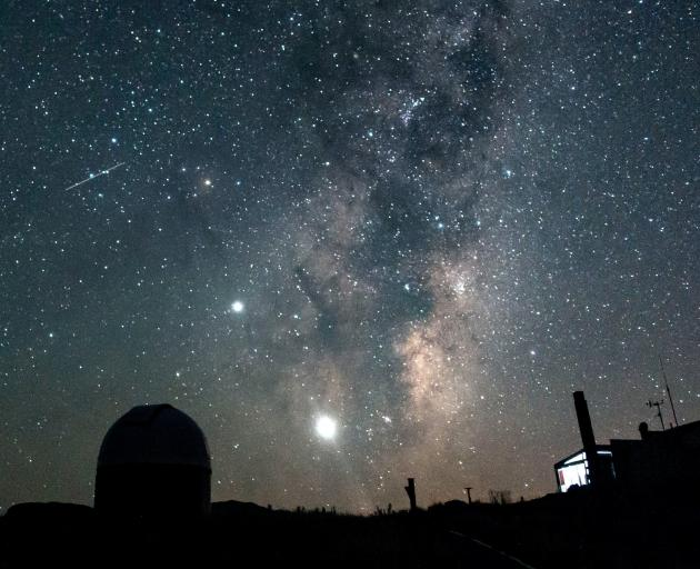 This image was taken from the Mount John Observatory at Mount John on the morning of February 4.