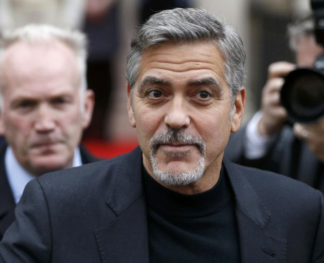 George Clooney. Photo: Reuters