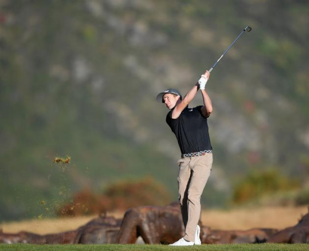 Zach Murray stakes himself to five-shot New Zealand Open lead