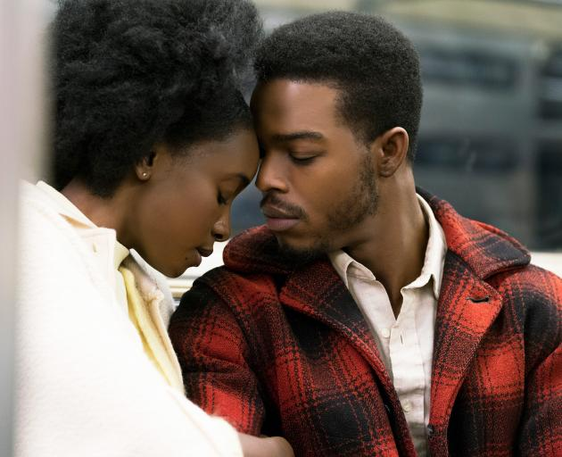 KiKi Layne and Stephan James in a scene from If Beale Street Could Talk. Photo: Supplied