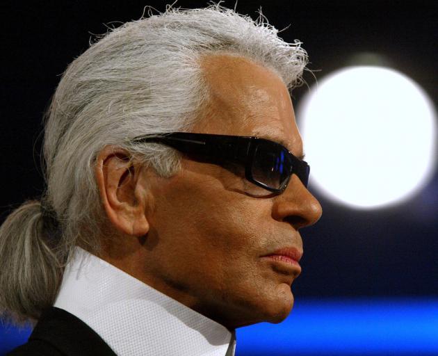 German fashion designer Karl Lagerfeld has died. Photo: Reuters