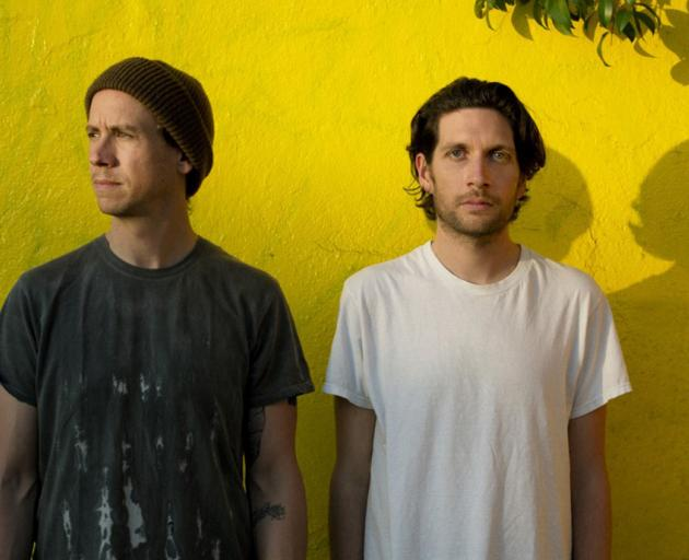 Los Angeles two-piece No Age brings its jagged noisy art rock to The Cook on Saturday. Photo:...