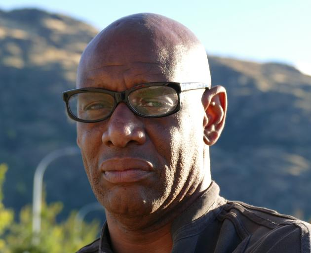 Shaun Wallace arrived in Queenstown last night to go head-to-head with resort quiz buffs. PHOTO:...