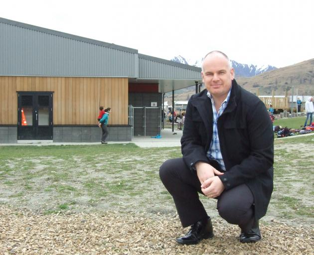 Principal Ben Witheford hopes the next phase of growth at Shotover Primary School will be its...
