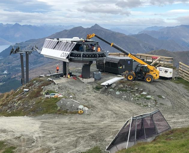 The top station of the Coronet Express chairlift is being removed this summer to make way for...