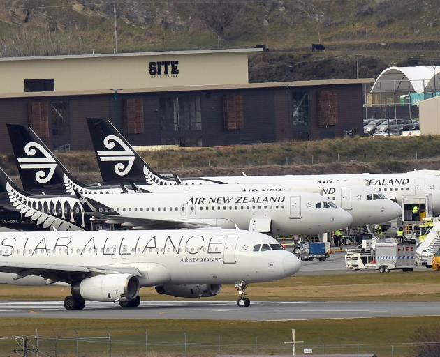 Queenstown Airport passenger numbers reached 2.14million in the year ending June. Photo: Stephen...
