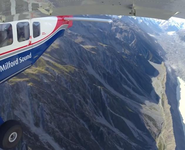 Niwa climate scientists and glaciologists are preparing to take to the skies for the annual Snowline Survey which records the effect of climate change on the South Island's glaciers. Photo: Supplied