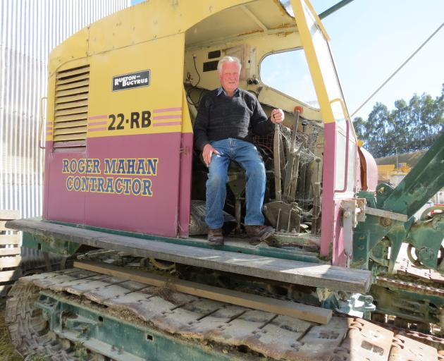 Vintage vehicle and equipment collector Roger Mahan, of Milton, is looking forward to taking the oldest tractor in New Zealand (above left) to the Wheels at Wanaka event at Easter. He was originally a public works construction contractor and used this Rus