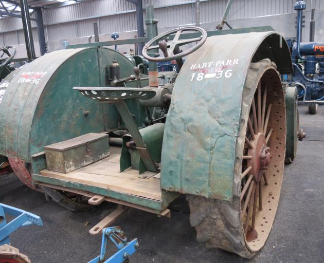 This Hart-Parr tractor is one of several of the same make tractor enthusiast Allan Dippie has in...
