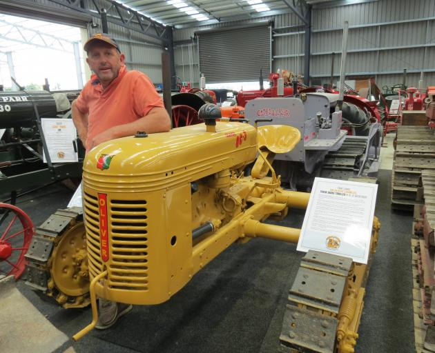 Allan Dippie and brother Martin had an identical Oliver OC-3 crawler when they first started out...