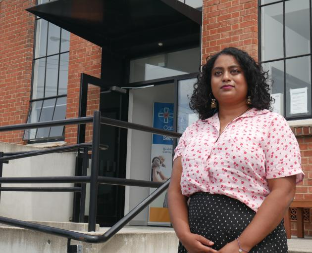 South Dunedin's new community development officer Michell Reddy is looking forward to talking to different sectors of the community. Photo: Jessica Wilson