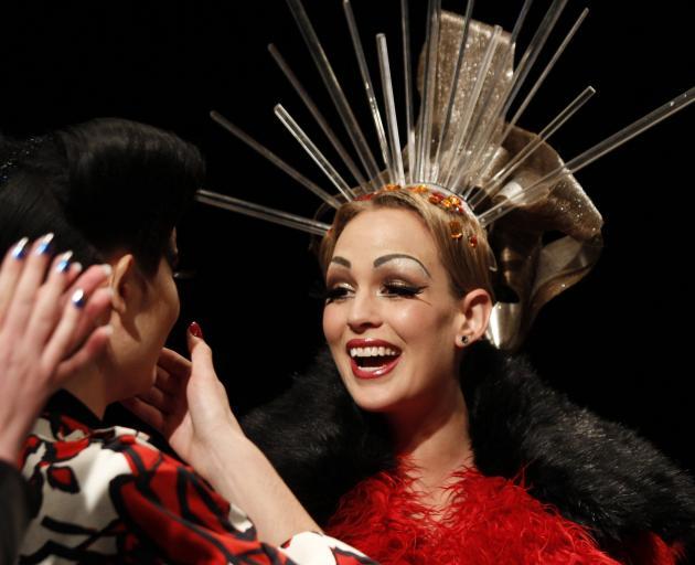 A winner of New Zealand's Next Top Model shows off her cheekbones. Photo: NZME