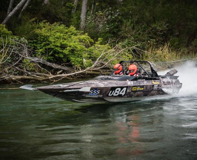 Not only was Cameron Moore passionate about jet boat racing and the outdoors, he was also a good family man, New Zealand Jet Boat River Racing Association president John Derry says. Photo: Supplied