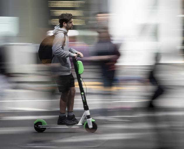 Lime put the brakes on their e-scooter fleet on Friday until the company sorted out its problem...