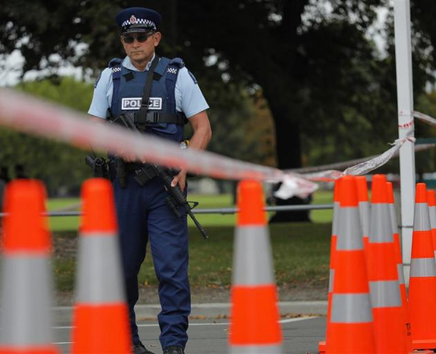 Police imposed a city-wide lockdown in Christchurch last Friday. Photo: AP