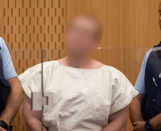 Brenton Tarrant has appeared in Christchurch District Court charged with murder. Photo: NZME