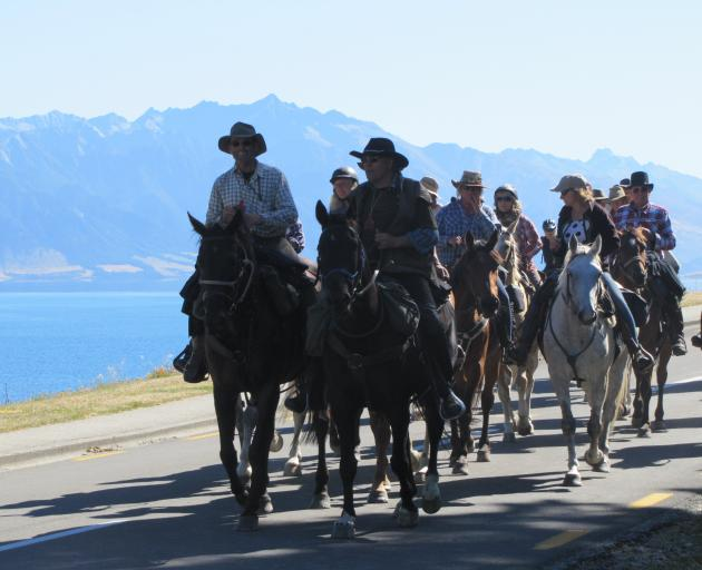 About 250 riders and horses participated. Photo: Mark Price