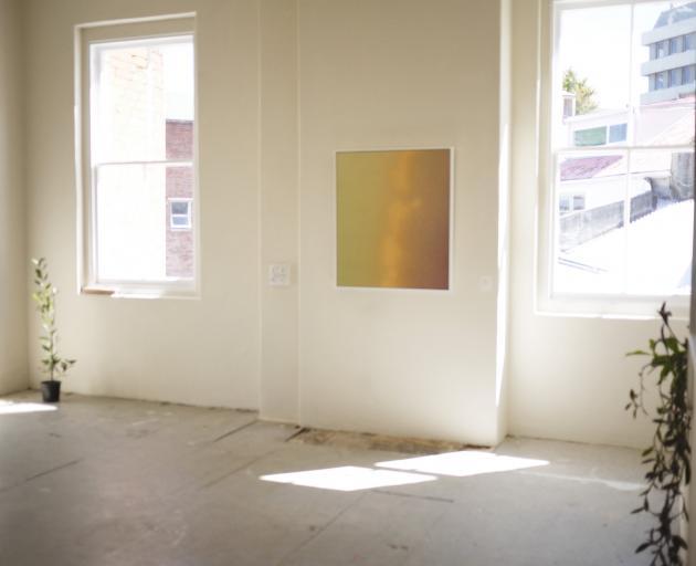 Eliot Coates' work in the Laurel Project Space.