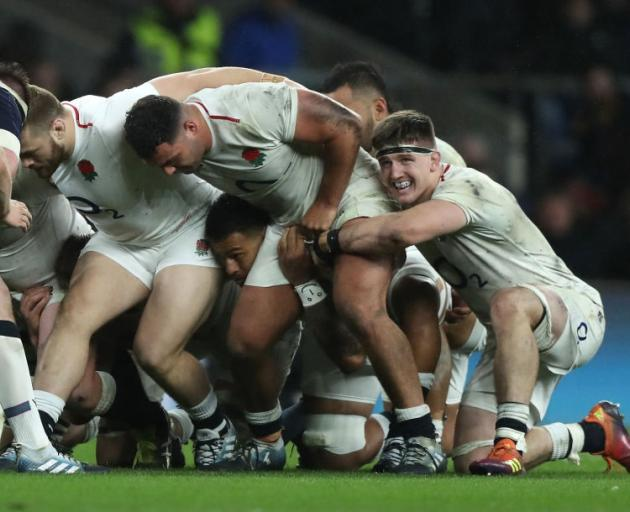 England's reluctance to accept a relegation system has been challenged by World Rugby. Photo:...