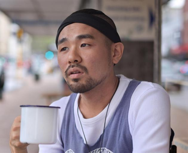Japanese poet Hideto Akasu is bringing his one-man show, based on his experiences as an exploited worker, to the Dunedin Fringe Festival. Photo: Christine O'Connor