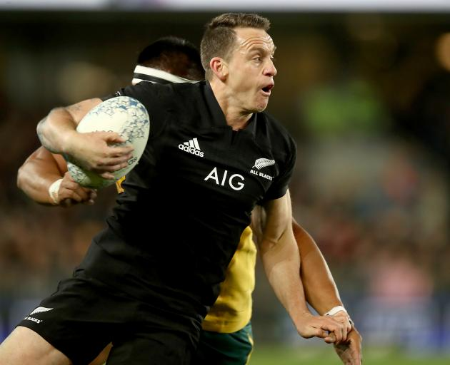 Ben Smith has continually been shunted onto the wing for the All Blacks. Photo: Getty Images