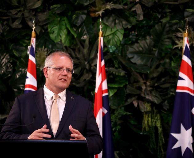 Australian Prime Minister Scott Morrison. Photo: Getty Images/ File photo