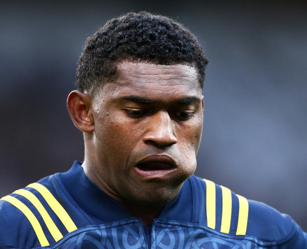 Highlanders winger Waisake Naholo hasn't been his usual brilliant self this season. Photo: Getty...