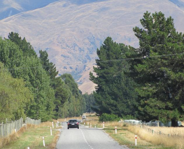 Turning Mt Barker Rd, near Wanaka, into a link to Queenstown is ''being considered''. Photo: Mark Price