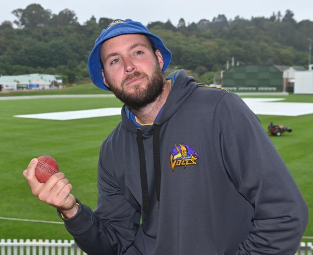 Otago旋转器马克克雷格反映了另一个赛季,其中大部分是在场边度过的......