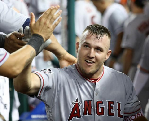 Mike Trout. Photo: Getty Images