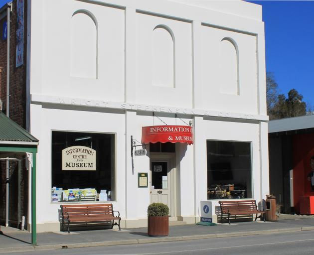 Lawrence Information Centre could soon be rescued from closure. Photo: Supplied