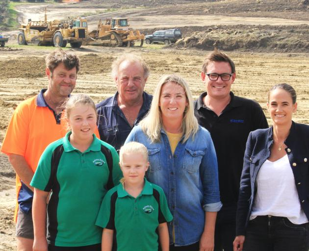 Waitaki's Lowe and Purvis families have teamed up to tap into Oamaru's ''humming'' real estate...