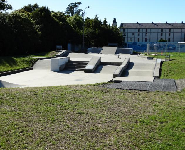 The Oamaru skate park. Photo: Daniel Birchfield