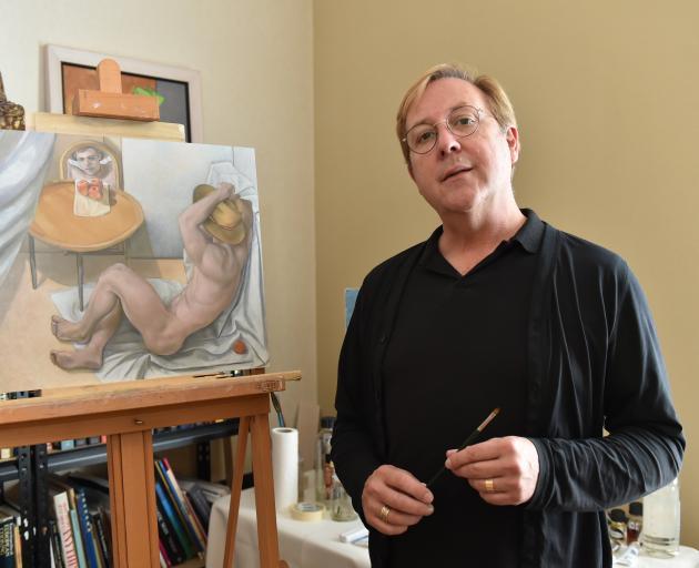"Anton Lambaart为""裸体""作品。照片:Gregor Richardson"
