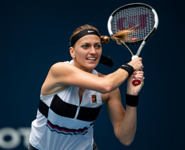 Petra Kvitova was stabbed in her home in 2016. Photo: Getty Images