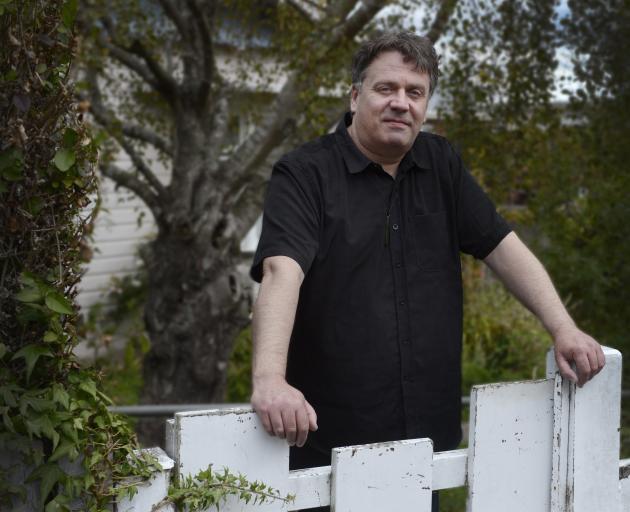 The Chills frontman Martin Phillipps at his home in Dunedin. PHOTO: GERARD O'BRIEN