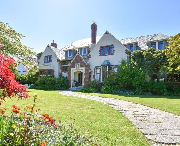 The picturesque Tudor-style mansion in the heart of St Clair would look right at home in the...